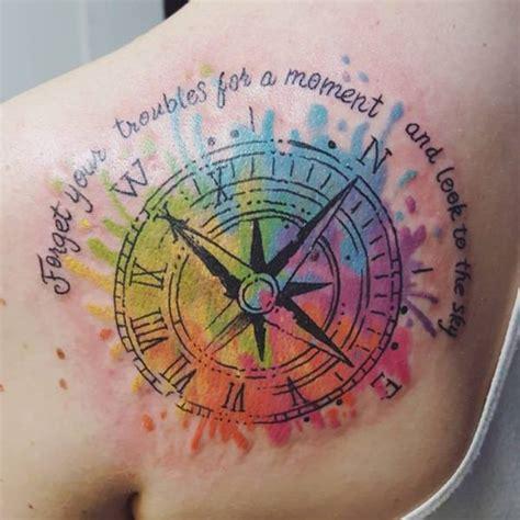 Tattoo Ideas Compass