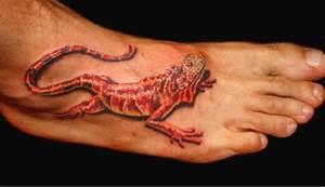 Tattoo Auf Dem Fuß : tattoo vorlage rote echs auf dem fuss ~ Frokenaadalensverden.com Haus und Dekorationen