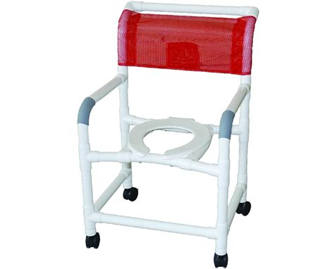 mjm wide commode shower chair with mesh save at