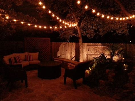 backyard lights atkrissy mummert collins   home