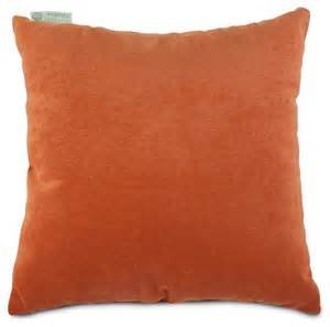 villa orange large pillow transitional decorative pillows by majestic home goods