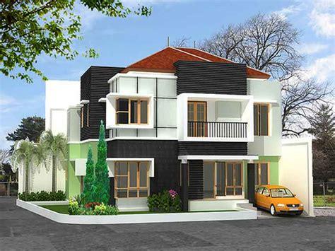 model gambar desain rumah sederhana terbaru indonesia