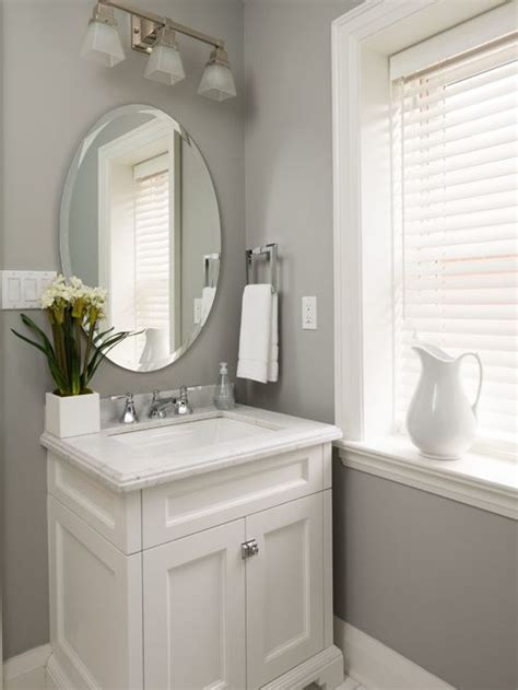 Transitional Powder Room Design Ideas, Remodels & Photos