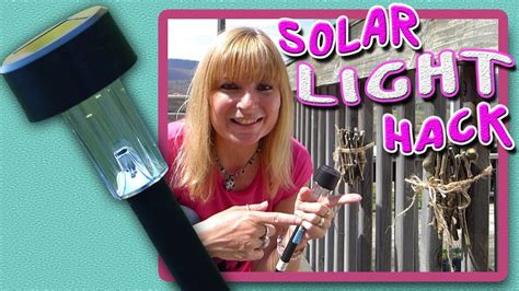 where to buy solar lights for crafts diy solar light craft youtube