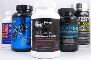 Best 5 Testosterone Supplements - 2017 Edition
