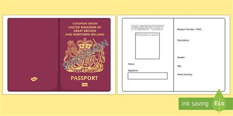 passport template ks teacher