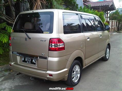 Modipikasi Apv 2013 Warna Hitam by For Sale Suzuki Apv Type Quot X Quot Chagne 2006 Dp Ringan