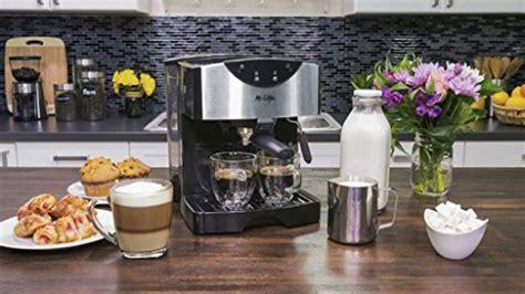 Pros & cons of mr. Mr. Coffee ECMP50 Espresso Maker Review - The Reviews Box