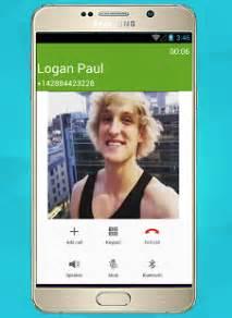 logan s phone number logan paul call prank 1 1 apk entertainment