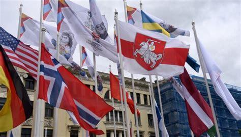 Fāzels nevēlas Rīgas ielās redzēt IIHF karogus līdzās Baltkrievijas opozīcijas karogam - DELFI