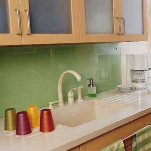 cheap backsplash ideas for the kitchen green acrylic backsplash inspired whims creative and 9403