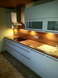 Kuche arbeitsplatte nussbaum tische fur die kuche for Arbeitsplatte küche nussbaum
