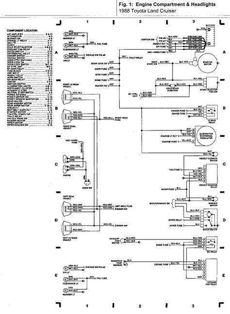 1984 Toyotum Diesel Wiring Diagram by 1988 Fj60 Wiring Diagrams Land Cruiser Tech From Ih8mud