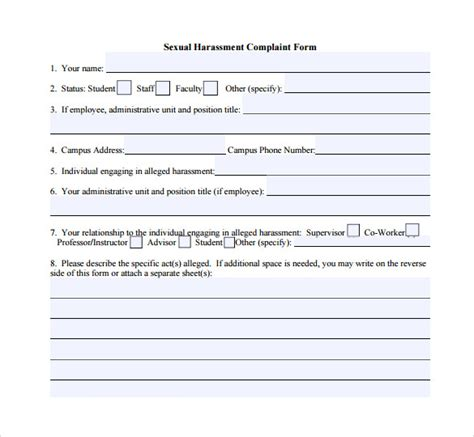 sexual harassment form charlotte clergy coalition
