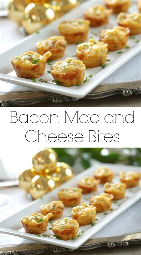 bacon mac and cheese bites recipe recipes finger