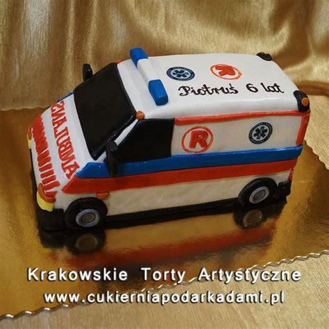 ambulance cake ideas  pinterest medical cake
