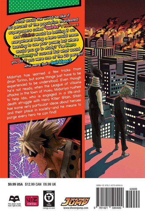 hero academia manga volume