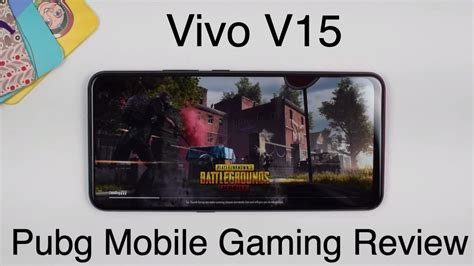 vivo  gaming review pubg mobile hdr  fire