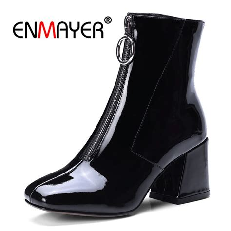 enmayer women ankle boots women high heels boots  women