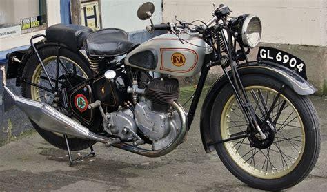 1937 Bsa B23 350cc Single Cylinder Side-valve Engine