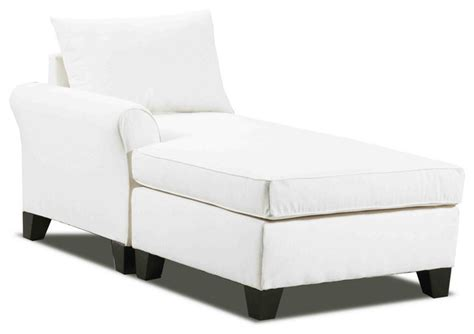 meade left arm chaise contemporary indoor chaise