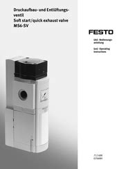 Festo MS6-SV Series Manuals | ManualsLib