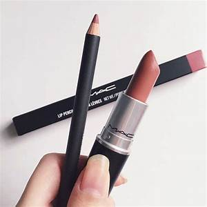 ac whirl lipliner and Mac velvet teddy - Picmia