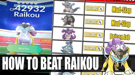 How To Beat Raikou Legendary Raid