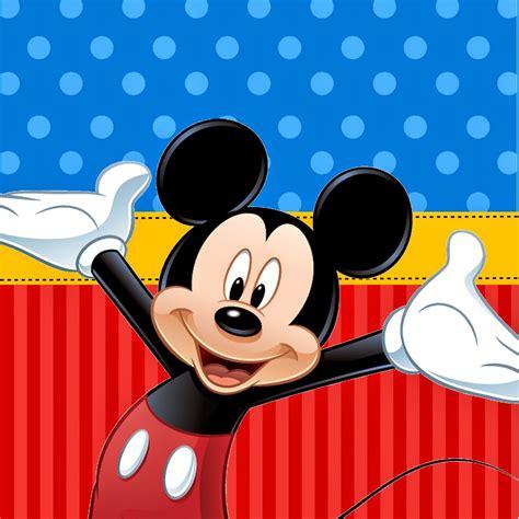 Fazendo A Propria Festa Kit De Personalizados Tema Mickey