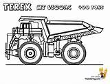 Coloring Dump Truck Pages Garbage Trucks Construction Printable Dirty Colouring Boys Terex Yescoloring Vehicles Kenworth Mt Maxi Freightliner Rock Hard sketch template