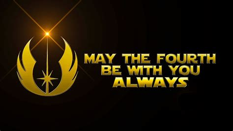 Star Wars Day / May The Fourth Be With You - YouTube