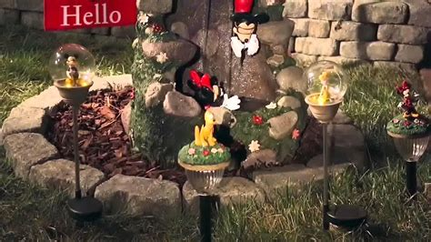 disney garden decor disney outdoor d 233 cor now available at sears