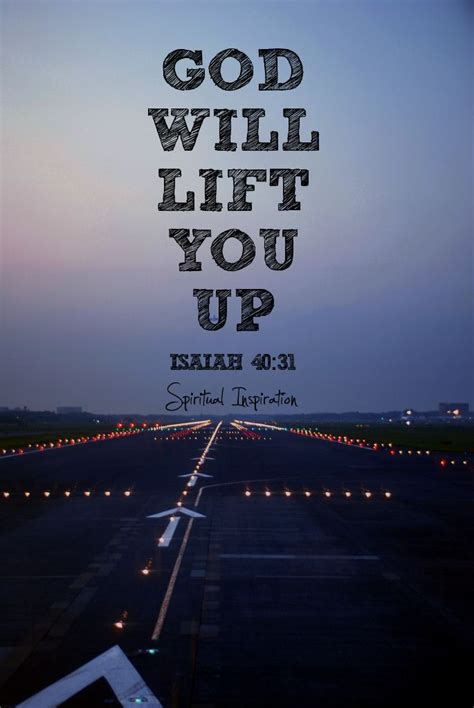 God Will Lift Me Up Quotes