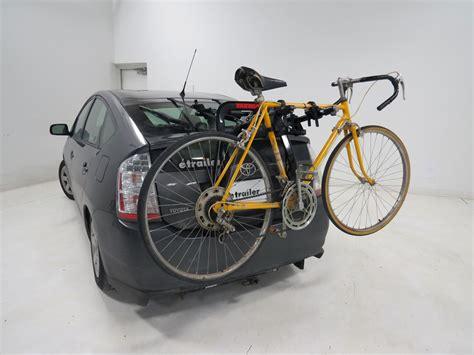 trunk bike rack 2016 toyota prius yakima fullback 2 bike rack trunk