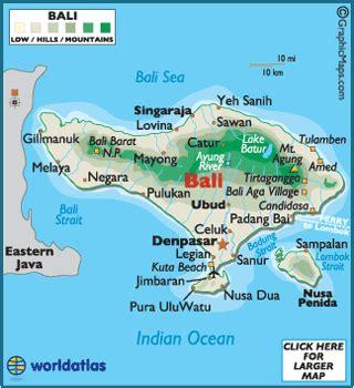 bali  bali map  information world atlas