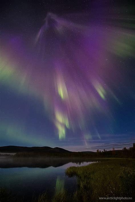 finland northern lights northern lights blaze up after big sun