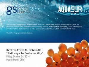 The Aquaculturists: 23/10/2014: Global salmon initative ...