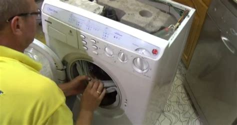 How To Replace A Washing Machine Door Seal Or Gasket On