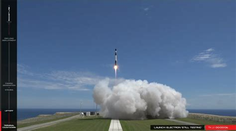 rocket lab successfully conducts  electron launch