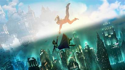 Bioshock Infinite Background Wallpapers Abyss