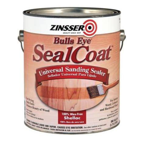 wood sealant home depot zinsser 1 qt sealcoat wood sealer case of 4 824h the home depot