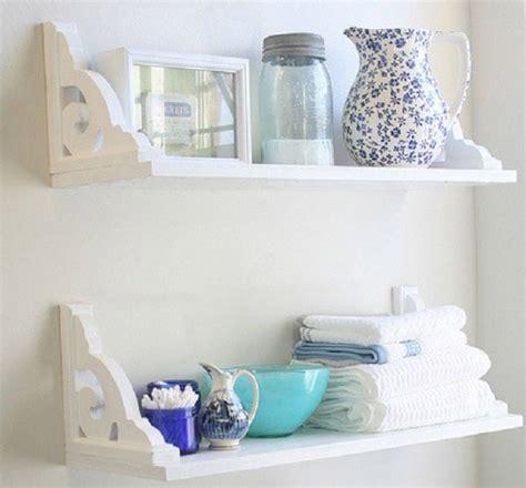 mensole in bagno bagno fai da te idee per arredare il bagno con materiali
