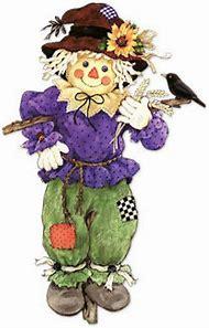 Cute Scarecrow Clip Art