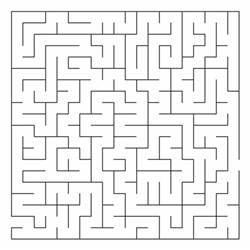 animal mazes coloring pages
