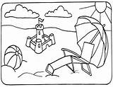 Summer Coloring Pages sketch template