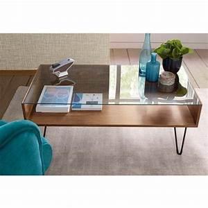Table Bois La Redoute : table basse en verre la redoute le bois chez vous ~ Melissatoandfro.com Idées de Décoration