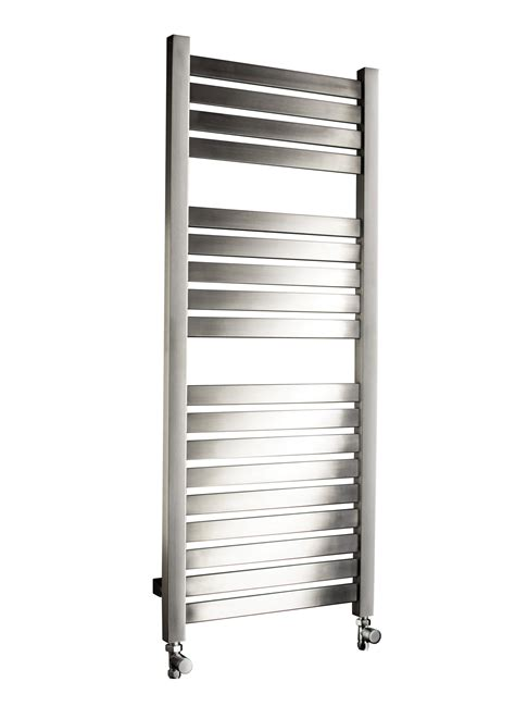 dq heating alisi mm wide brushed stainless steel heated
