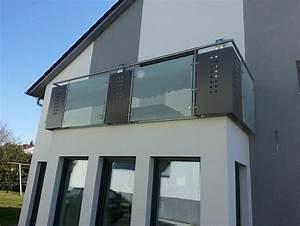 Edelstahl Sichtschutz Metall : galerie edelstahl glas alu balkongel nder rettner ziegler balkongel nder ~ Orissabook.com Haus und Dekorationen