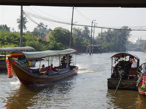 Canal Boat Finder by Khlong Klong Canal Boat Trip Tour River Bangkok Thailand