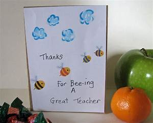 Homemade Teacher's Thank you card- card to | ScrapPantry